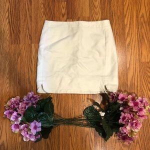 J. CREW mini wool skirt
